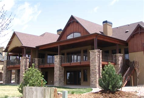 ranch floor plans with walkout basement mountain house plans with walkout basement mountain ranch house plans mountain lake house plans