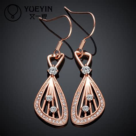 jewelry for sale e001 sale fashion 18k gold plated drop earrings for