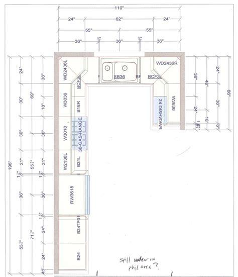 kitchen design floor plans u shaped kitchen floor plans
