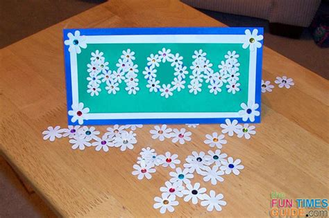 make a s day card how to make a mothers day card of flowers times