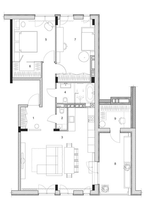 home building plans two modern homes with rooms for small children with floor plans
