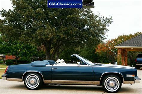 85 Cadillac Eldorado For Sale by 1985 Cadillac Eldorado Commemorative Convertible Matt