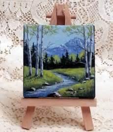 small acrylic painting ideas 25 trending mini paintings ideas on mountain