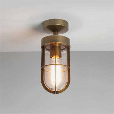 Fitting Ceiling Light by Astro Cabin Ip44 Semi Flush Outdoor Ceiling Light