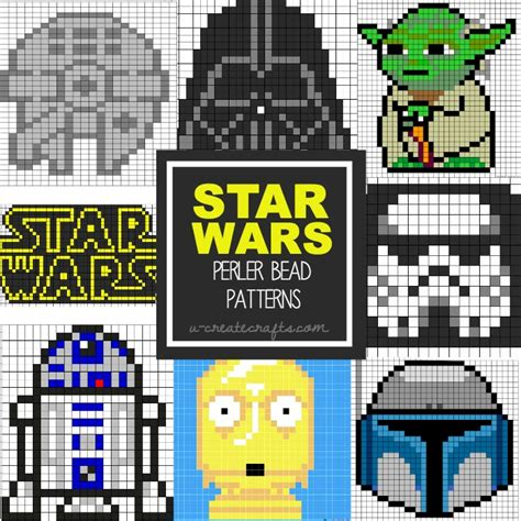bead projects wars perler bead patterns u create