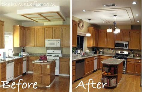 kitchen light box removing a large fluorescent kitchen box light flashback
