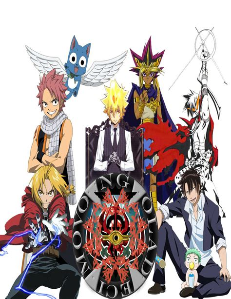 anime heroes anime heroes by black bird zaiden on deviantart