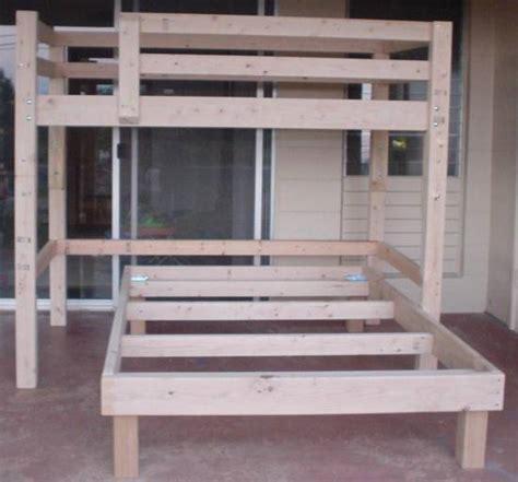 single bunk bed plans woodwork single bunk bed plans pdf plans