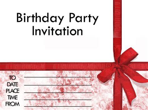 how to make a birthday invitation card enjoy free printable invitations 24 7