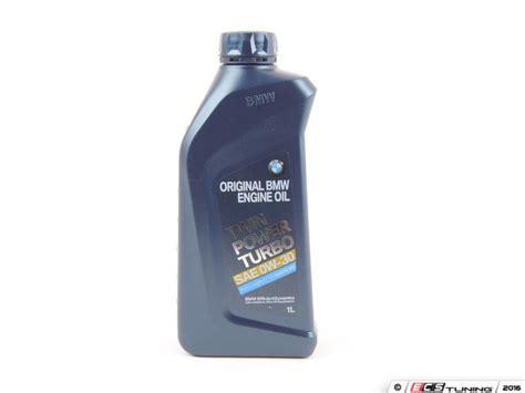 Bmw Synthetic by Genuine Bmw 83212365950 Bmw Twinpower Turbo 0w 30