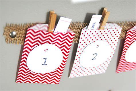 advent calendar craft for easy advent calendar craft idea