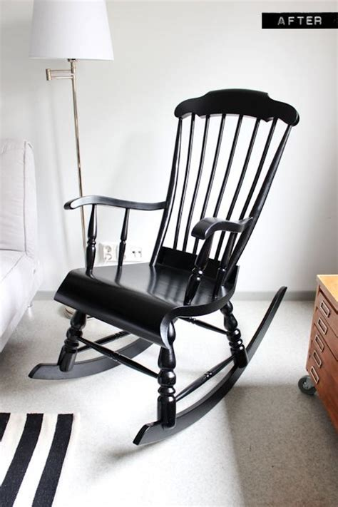 black nursery rocking chair rocking chair makeover rockers and black white nursery on