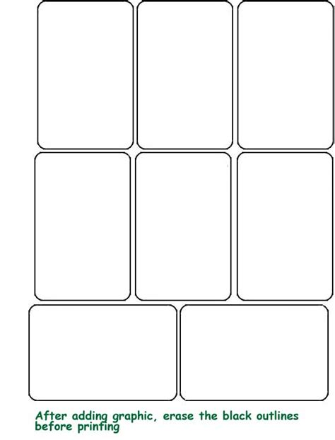 how to make blank cards 6 best images of printable blank cards template