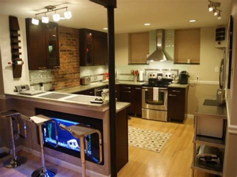 kitchen with breakfast bar designs cool kitchen breakfast bar ideas 14595