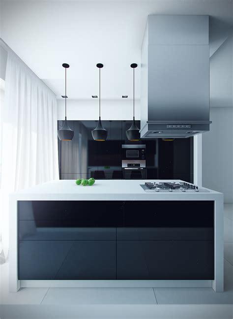 sleek kitchen designs sleek modern kitchen with island interior design ideas