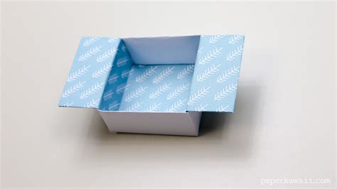 origami container origami open box paper kawaii