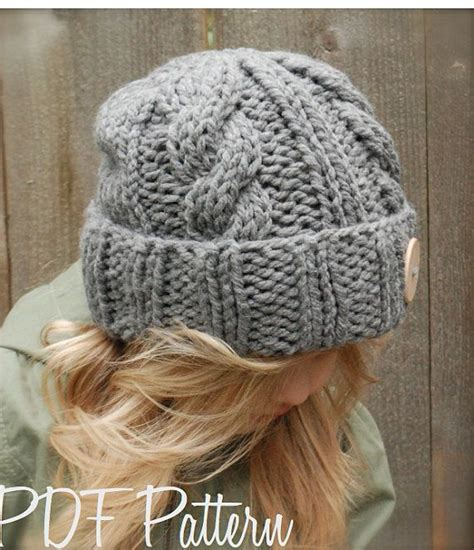 chunky knit hat free pattern knitting pattern the beckett hat toddler child sizes
