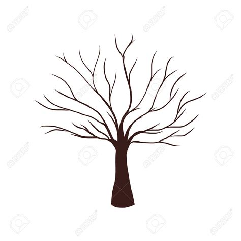 tree brown brown tree without leaves clipart clipartsgram