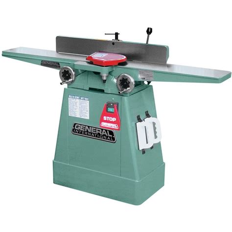 general international woodworking tools general international 13 6 in jointer with