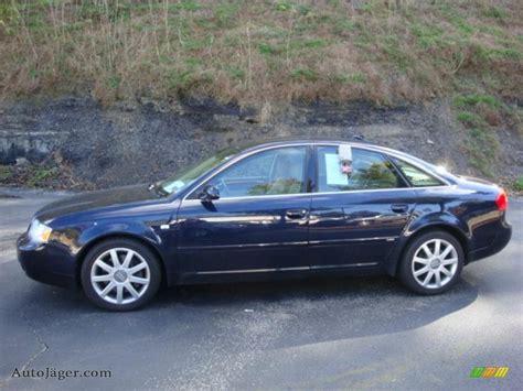 Audi 2004 A6 by 2004 Audi A6 2 7t S Line Quattro Sedan In Blue Pearl