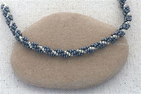 spiral beading easy spiral stitch rope