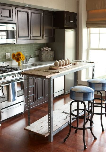 industrial kitchen island 22 industrial kitchen island designs for retro look of the kitchen