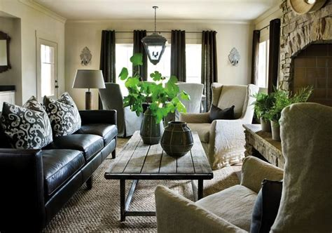 black sofa living room ideas how to decorate a living room with a black leather sofa
