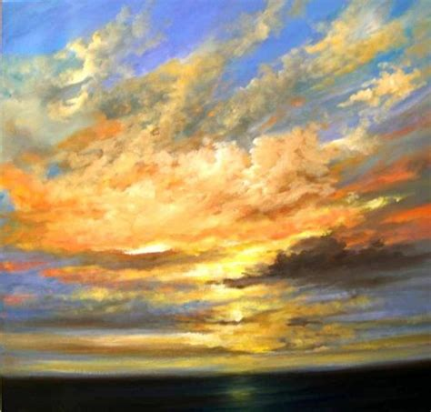 acrylic painting sky sky of distinction sold acrylic box canvas
