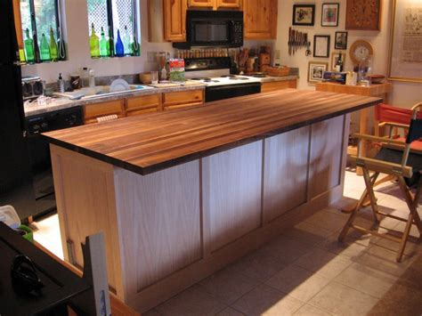 how to install kitchen island cabinets diy kitchen island cabinet the owner builder network