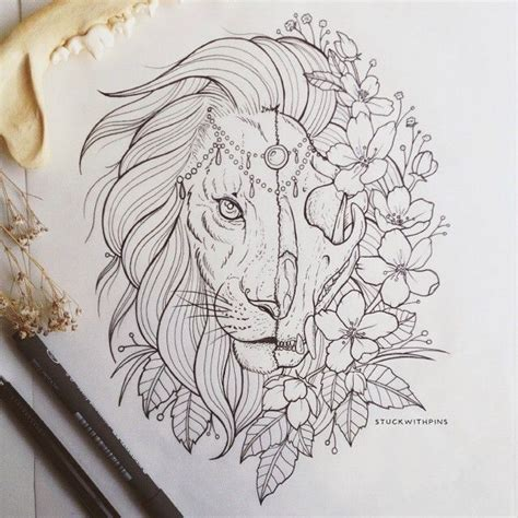 25 unique lion face drawing ideas on pinterest lion