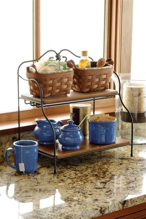 kitchen counter storage ideas storage friendly accessory trends for kitchen countertops