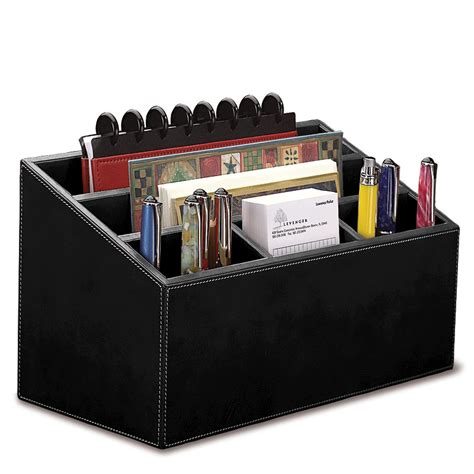 black leather desk organizer unifier leather desk organizer levenger