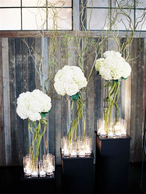 modern centerpieces 17 best ideas about hydrangea wedding centerpieces on