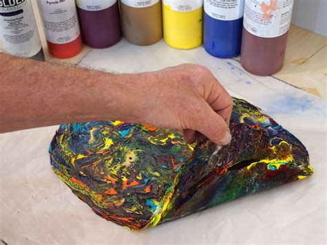 acrylic paint peeling canvas skins with fluid acrylics just paint