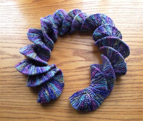 knit and crochet potato chip scarf knitting and crochet tutorial