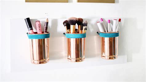 organizer ideas 10 easy diy makeup organizer ideas you ll want to copy