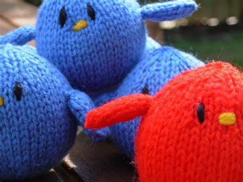 free knitting patterns of toys tweet free knitted pattern by woollymagic122