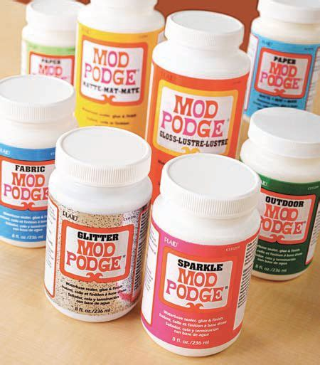 decoupage and mod podge mod podge the original all in one decoupage glue sealer