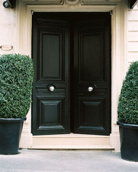 black exterior door 27 chic front doors to try for your entry shelterness