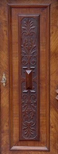 Furnierte Türen Auffrischen by Gr 252 Nderzeitvertiko Nussbaum Mit S 228 Ulen Hochwertig