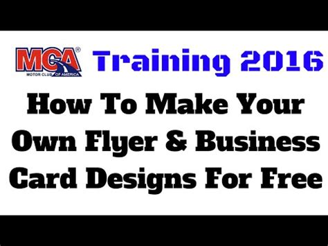 make your own business card free free mca flyer musica movil musicamoviles