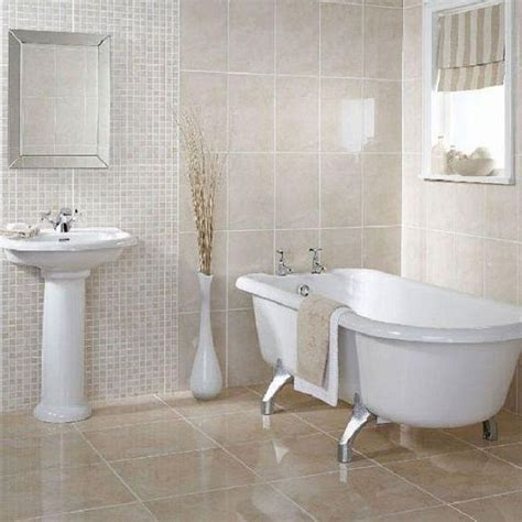 Bathroom Ideas White by Wall Of Tile Megans House Small White