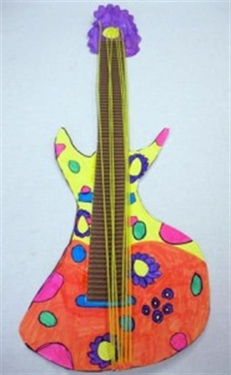 guitar crafts for musical instruments craft idea for crafts and