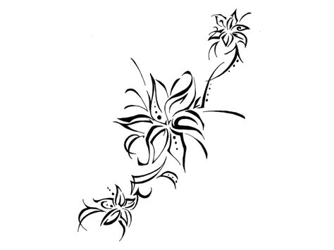 tribal flower tattoo designs free download clip art