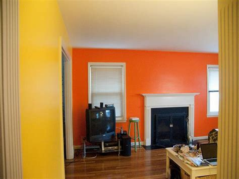 paint colors yellow orange bloombety yellow orange wall paint colors ideas an