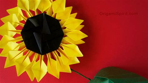 3d origami for sale origami handmade origami sunflower part make sunflower
