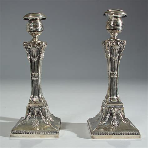 silver holders antique sterling silver candle holders manhattan and