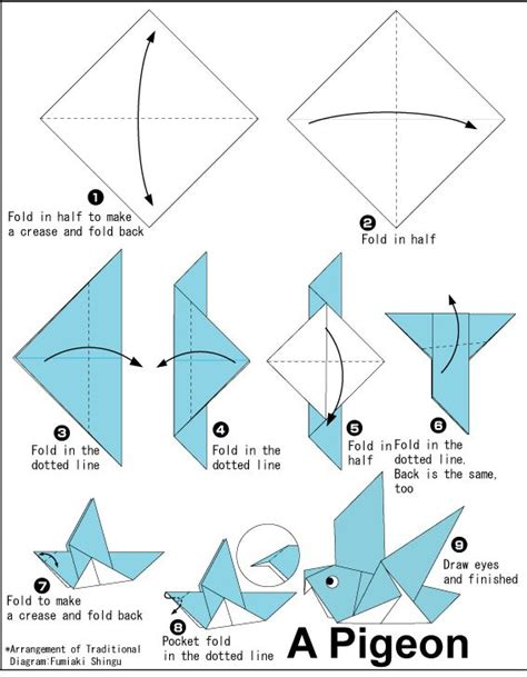 25 Best Ideas About Origami Birds On Diy