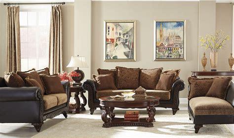 chocolate living room set garroway russet chocolate living room set 505231
