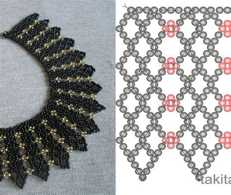 bead necklace tutorial patterns best 25 seed bead tutorials ideas on beaded